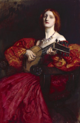 A Lute Player 1899