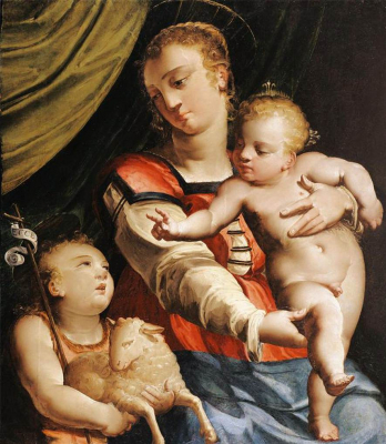 Virgin and Child with the Young St John the Baptist