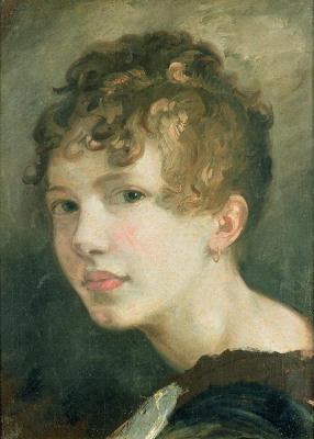 Portrait of Miss H M de Cardonnel Lawson