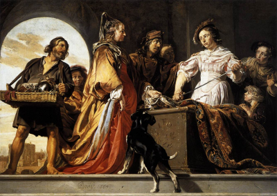 The Discovery of Achilles among the Daughters of Lycomedes