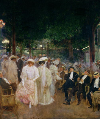 The Gardens of Paris or The Beauties of the Night 1905