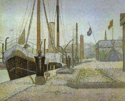 The Maria At Honfleur