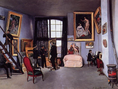 The Studio on the Rue La Condamine