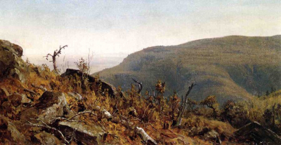 The View from South Mountain in the Catskills, A Sketch