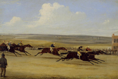 The 1850 Cambridgeshire Stakes The Finish