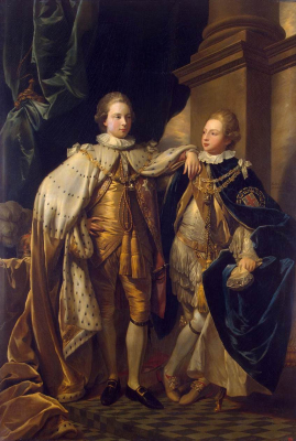 George, Prince of Wales, and Prince Frederick