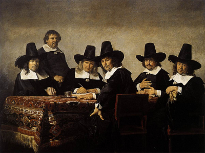 The Regents of the Children's Orphanage in Haarlem
