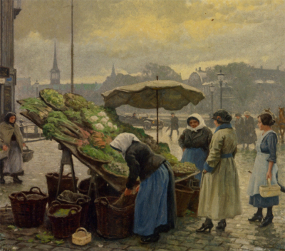 At the Vegetable Market
