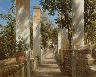 Pergola with Oranges