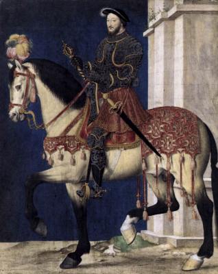 Portrait of Francis I, King of France b