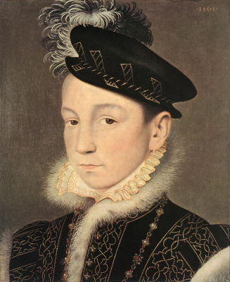 Portrait of King Charles IX of France