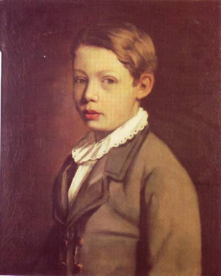 Portrait of a Boy from the Gottlieb Family