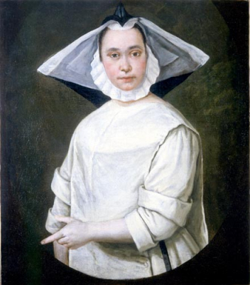 Portrait of a Young Nun
