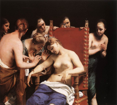 The Death of Cleopatra b