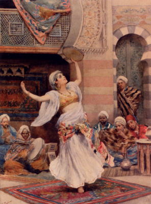 The Tambourine Dancer