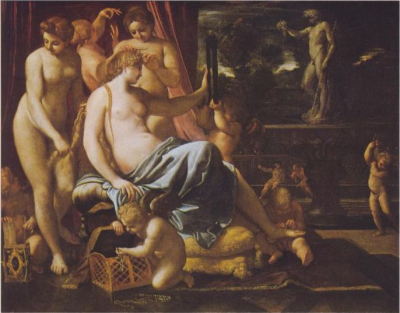 Venus Adorned By The Graces