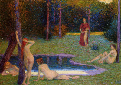 Bathers in the Evening