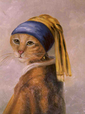 Cat Paintings N007