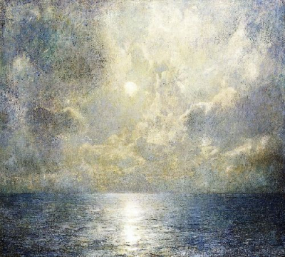Moonlilt Seascape