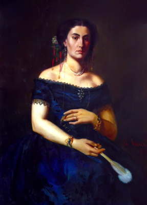 Portrait of Aristia Aman
