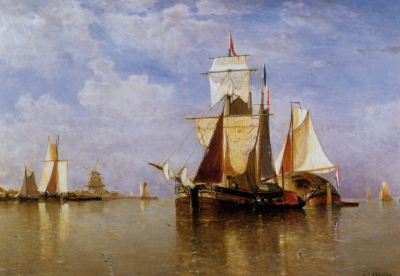 Shipping off the Dutch Coast