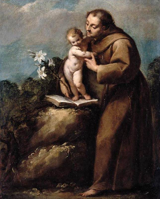 St. Anthony of Padua and the Infant Christ