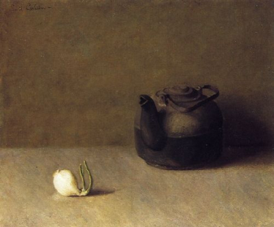 Still Life with Teapot and Onion