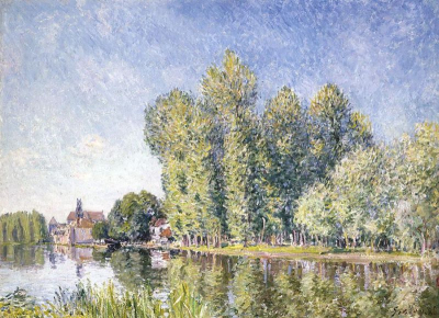 The Loing at Moret II