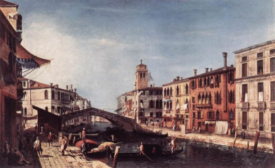View of the Rio di Cannareggio