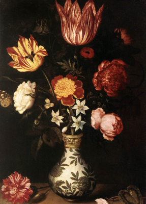 Still-Life with Flowers in a Wan-Li vase