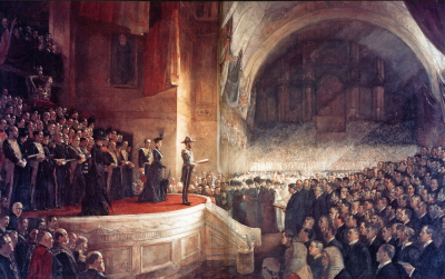 The Big Picture - The Opening of the First Parliament of the Commonwealth of Australia
