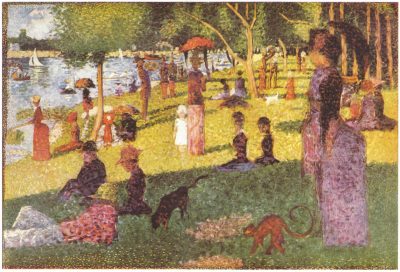 Study for A Sunday Afternoon on the Island of La Grande Jatte