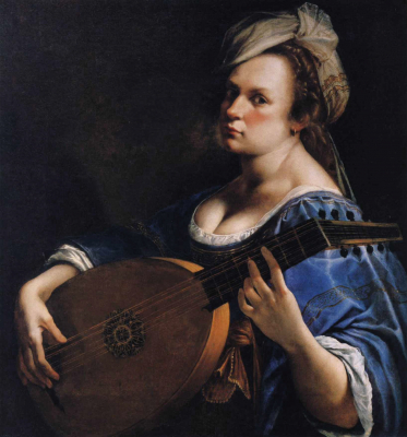 Self-Portrait as Lute Player