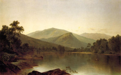 View on the Androscoggin River, Maine