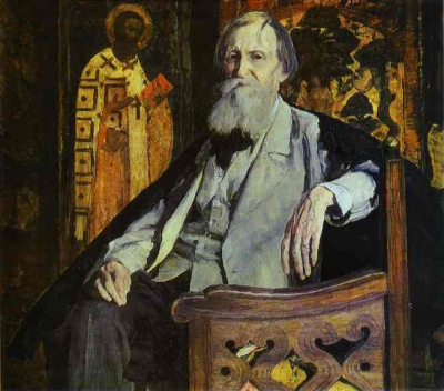 Portrait of Victor Vasnetsov