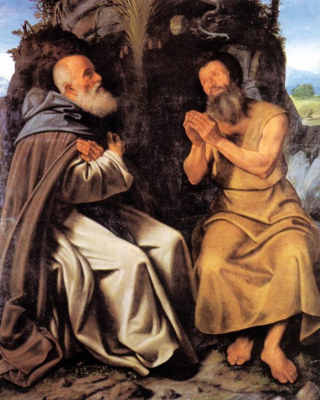Saint Anthony Abbot and Saint Paul
