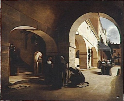 The Ave Maria - Interior of a Convent
