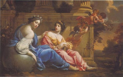 The Muses Urania And Calliope