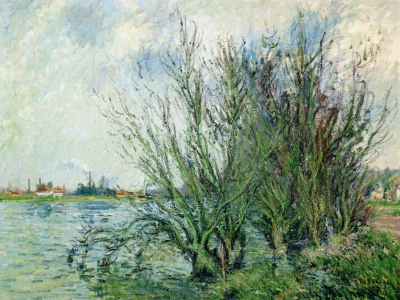 Willows, Banks of the Oise
