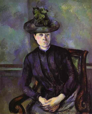 Woman in a Green Hat