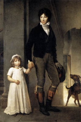 Jean-Baptist Isabey and Daughter