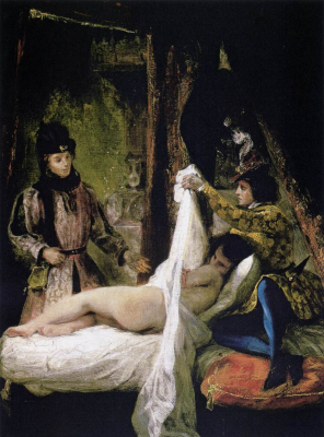 Louis dOrleans Showing his Mistress