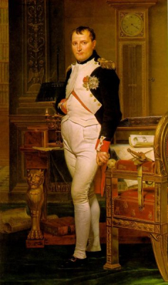 Napoleon in His Study