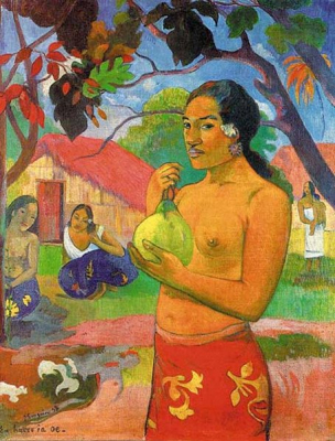 Woman with a Fruit