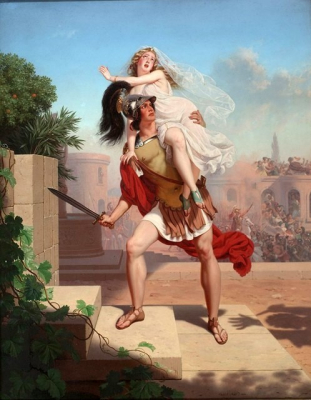 The Rape of the Sabines - The Abduction
