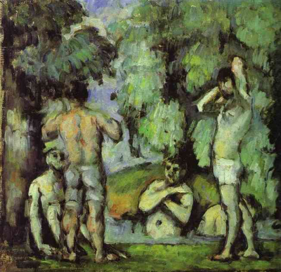 The Five Bathers