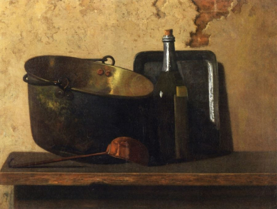 Wine and Brass Stewing Kettle