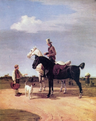 Rider with Two Horses
