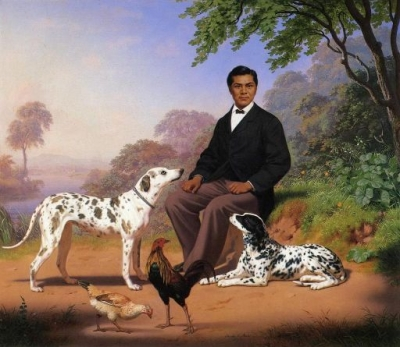 Sacramento Indian With Dogs