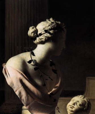 Still Life with a Bust of Venus